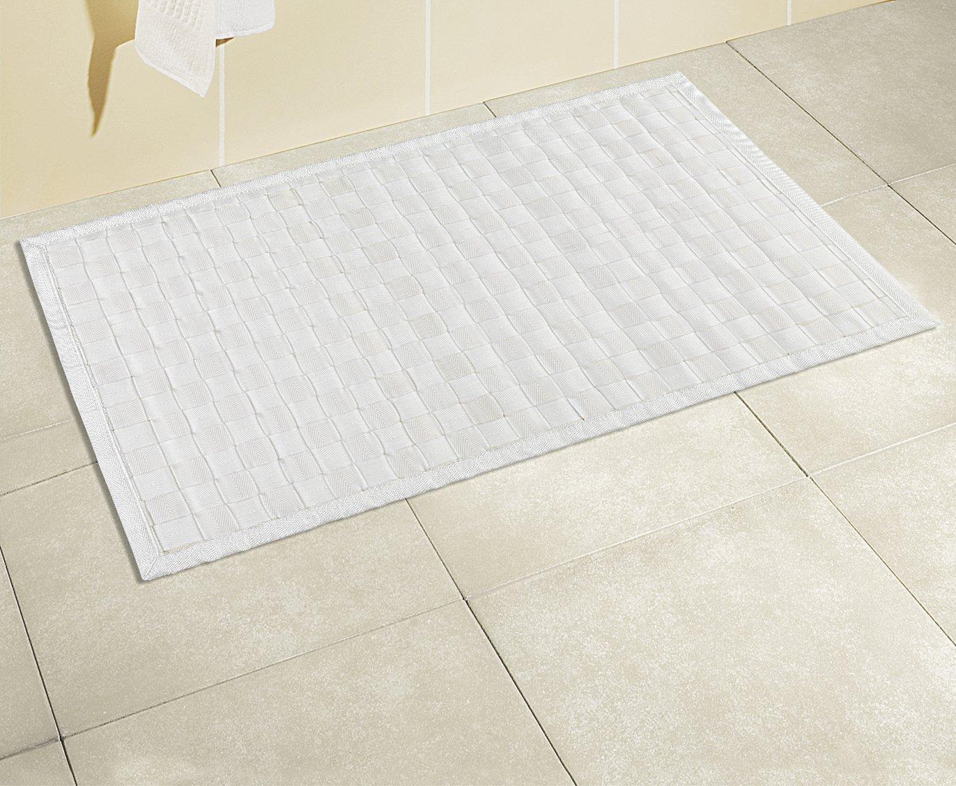 Meuble Salle De Bain Mvm ~ wenko 22109100 adria tapis de bain polypropyl ne bambou plastique