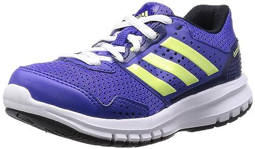 adidas Boys' Duramo 7 Slipper Purple Size: 2.5