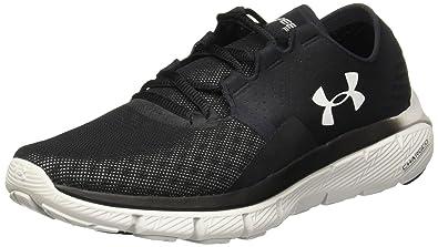 Under Armour Women's UA Speedform Fortis 2.1 Black/Glacier Gray/Glacier  Gray Athletic Shoe