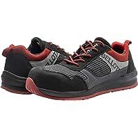 Bellota 72350BR36S1P Zapato de seguridad, Negro, Rojo, 36