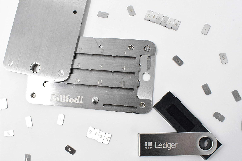 Ledger Nano S + Billfodl Copia de Seguridad para la Frase de ...