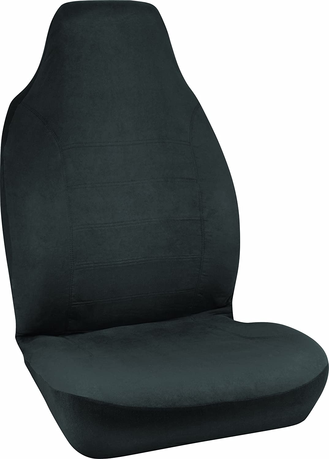 Bell Automotive 22-1-56225-8 Black Micro Suede Universal Bucket Seat Cover