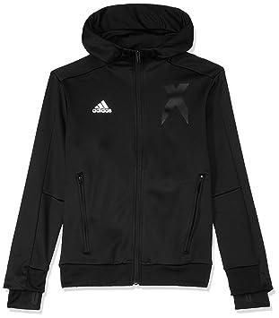 84f715ce9afb adidas Jungen X Full Zip Kapuzen-Jacke  Amazon.de  Sport   Freizeit