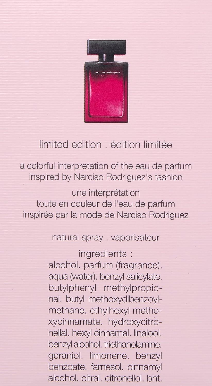 Amazon Com Narciso Rodriguez For Her In Color Eau De Parfum Spray