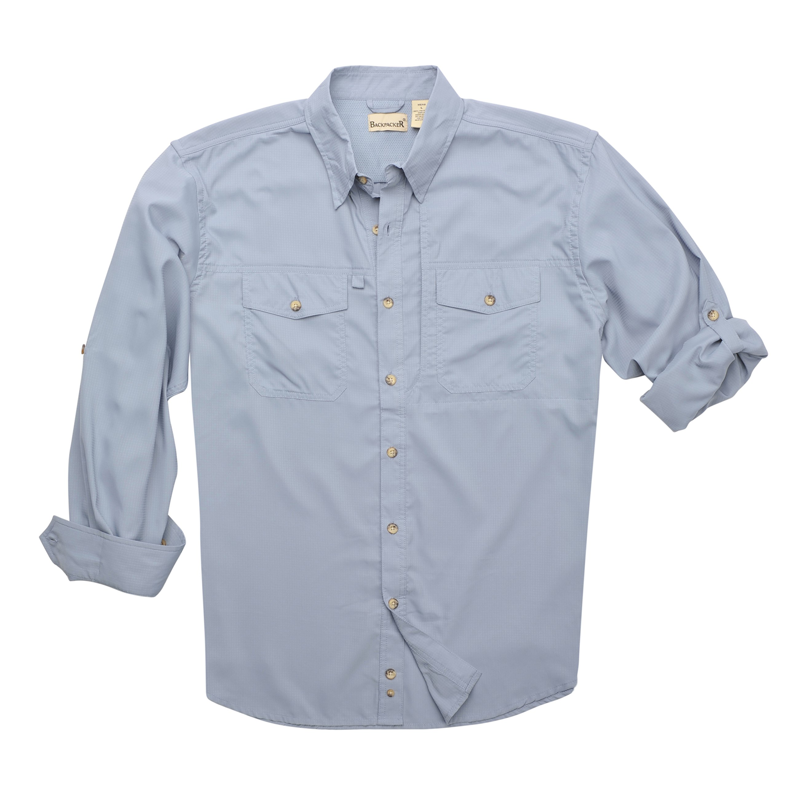 Backpacker Expedition Travel Shirt, Twilight, X-Large