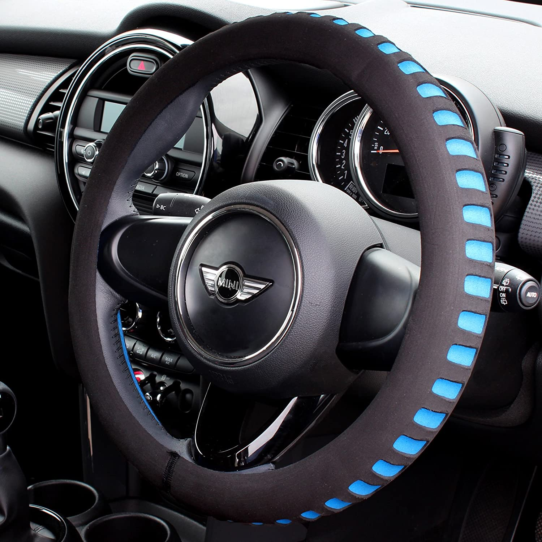 Hardcastle Black & Blue Foam Steering Wheel Cover