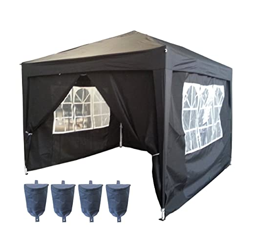 FoxHunter Heavy Duty 100 Waterproof 3m X Pop Up Gazebo Marquee Awning Party Tent