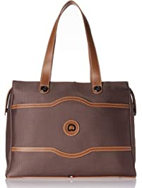 f1cdbe03628081 Delsey Luggage Chatelet Soft Air Shoulder Bag Shoulder Bag, Chocolate