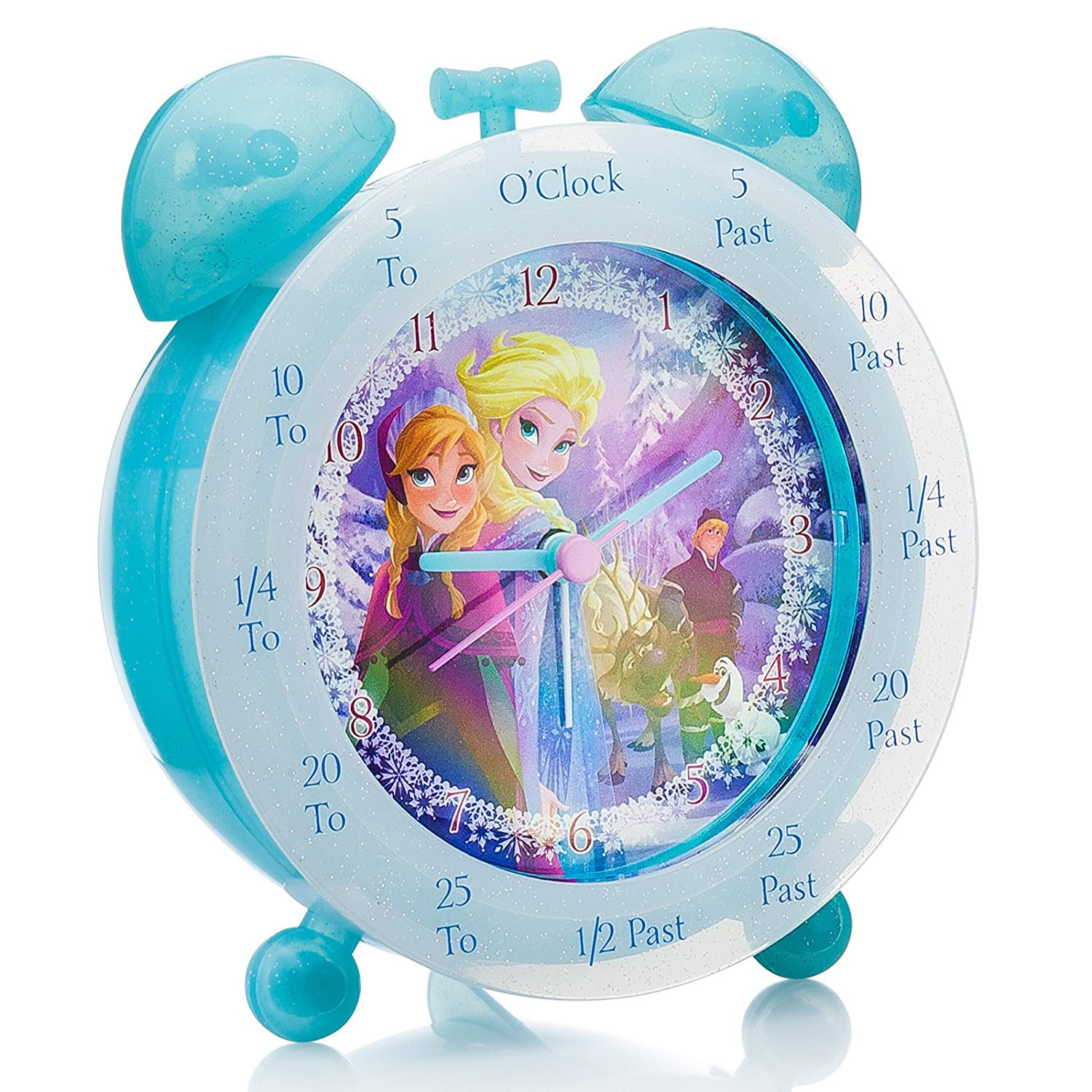 Disney Frozen Time Teacher Analogue Clock, FROZ1 Zeon Ltd