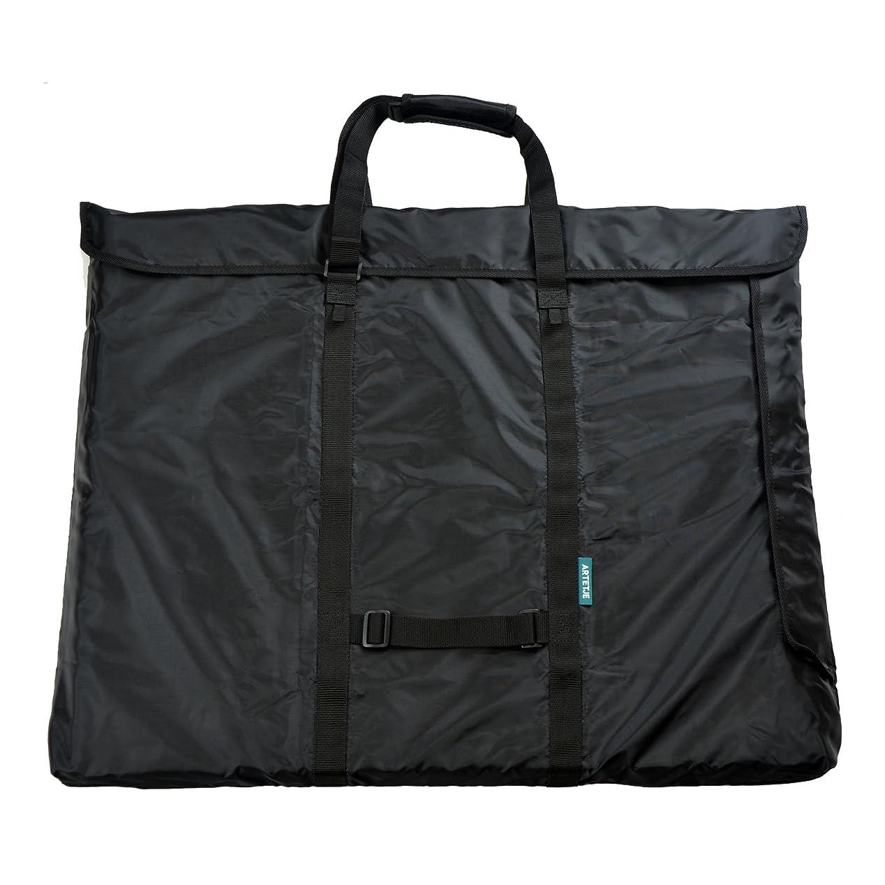 気難しい我慢するにアルテージュ トート&リュック F6-02 ネイビー 2WAY 画材バッグ