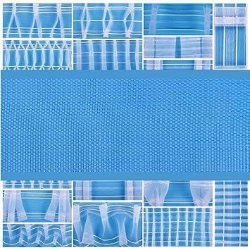 Kräuselband 22mm in 7 Farben Meterware Gardinenband Faltenband Reihband Gardinen