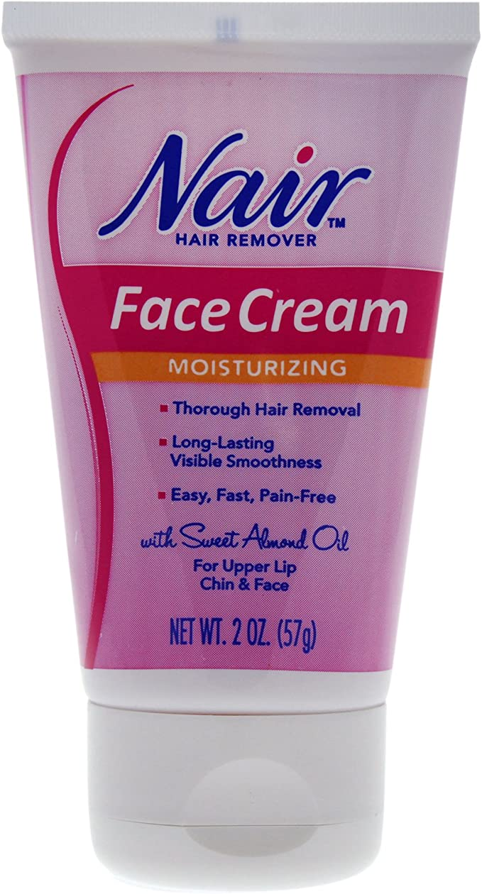 Amazon Com Nair Face Cream 2 Oz Depilatories Beauty