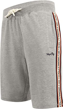 TALLA 38. Tokyo Laundry Beaverton - Pantalones cortos para hombre, para deporte, gimnasio