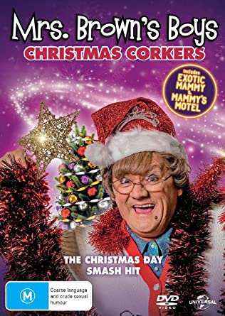 Christmas Specials 2020: 2. Mammys Motel Amazon.com: Mrs Brown Boys 2019 Christmas Special | Exotic Mammy