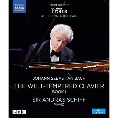 Bach, J.S.: Well-Tempered Clavier I (Schiff,Andras) [Blu-ray]