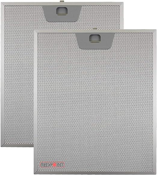 Kit de 2 unidades. Filtros de aluminio para campanas Faber 253 x 300 x 8 mm.: Amazon.es: Hogar
