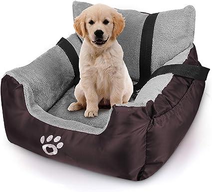 Waterproof Folding Pet Car Carrier Bag Seat Portable Travel Car Booster Seat for Dog Cat GULEHAY Pet Car Seat