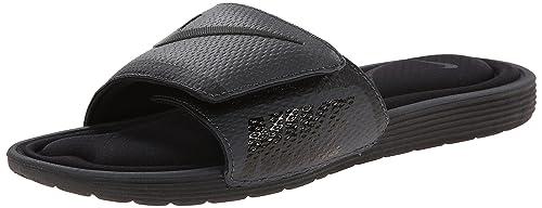 official photos bd4ac a4cc9 Nike Men s Solarsoft Comfort Slide Sandal, Black Anthracite, 10 D(M)