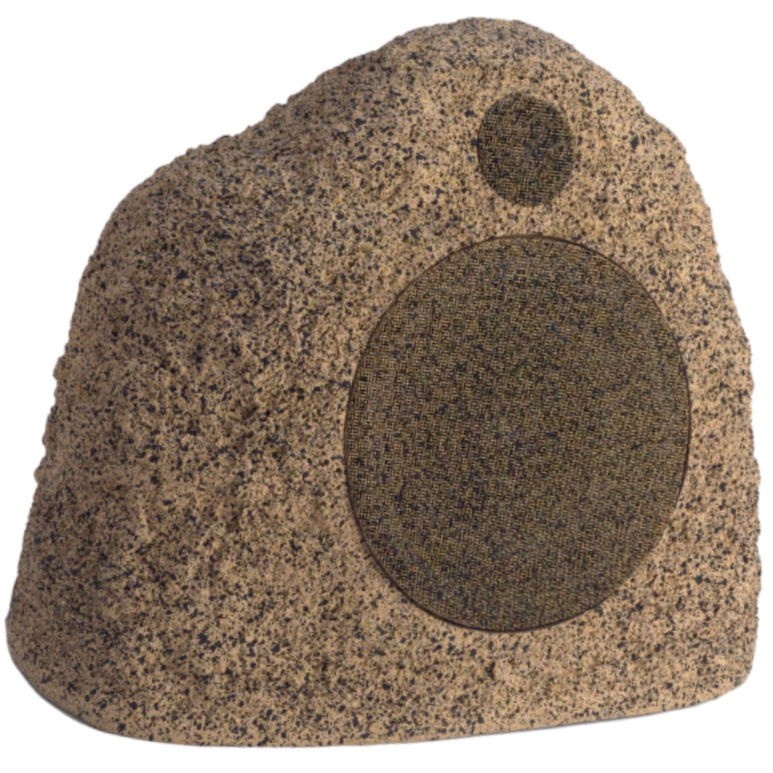 Stereostone Cinema Rock Outdoor Speaker 8 Inch Davinci Rock Speaker (Brown Sandstone) by Stereostone
