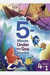 5-Minute Disney Ocean Stories: 4 Stories in 1 (5-Minute Stories) Kindle Edition