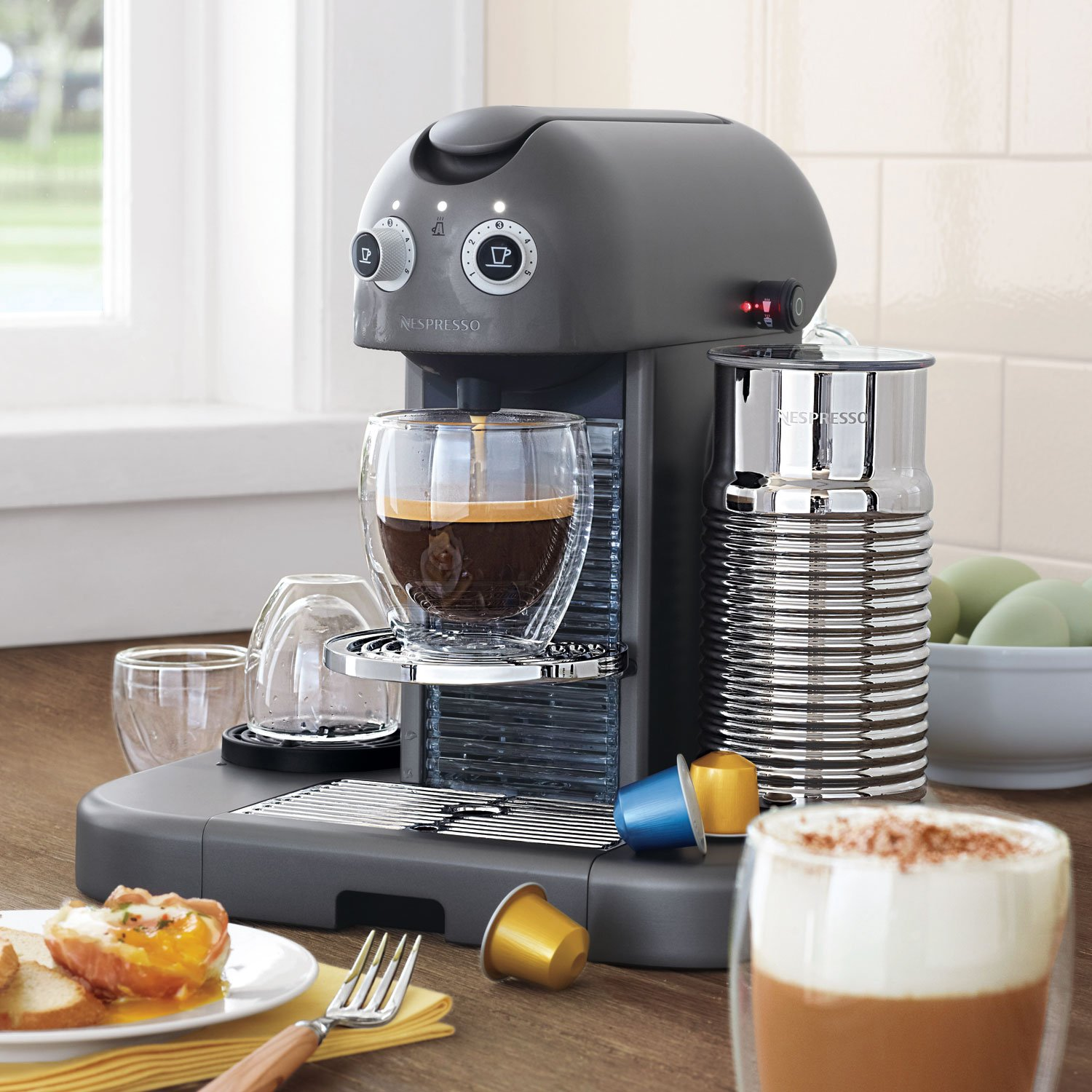 Amazon Nespresso B520 Gran Maestria Espresso Maker Chrome