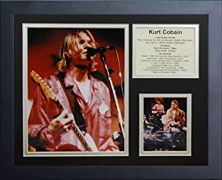 Legends Never Die'Kurt Cobain' Framed Photo Collage, 11 x 14-Inch