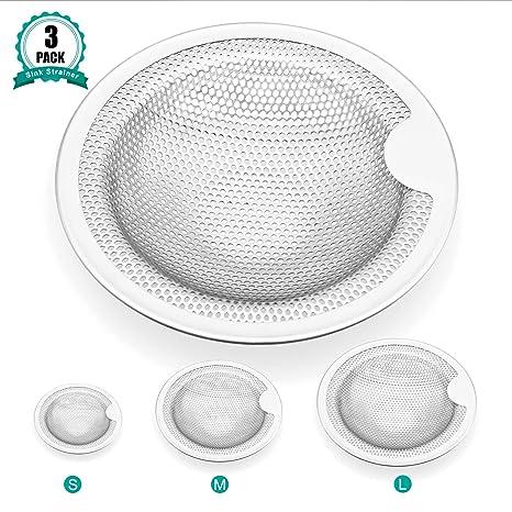 Amazon.com: Colador para fregadero, diseño de sombrero, de ...
