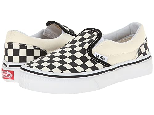 4f63642629144 Vans Kids Classic Slip-On (Checkerboard) Skate Shoe: Amazon.ca ...