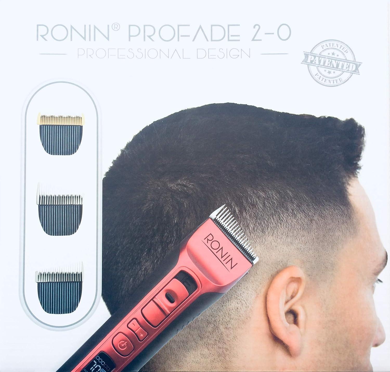 Cortapelos Ronin Pro Fade, la ÚNICA maquina de corte profesional con cuchillas para degradados