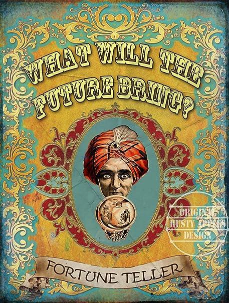 Cartel de Metal de Estilo Vintage con diseño de Circo de ...
