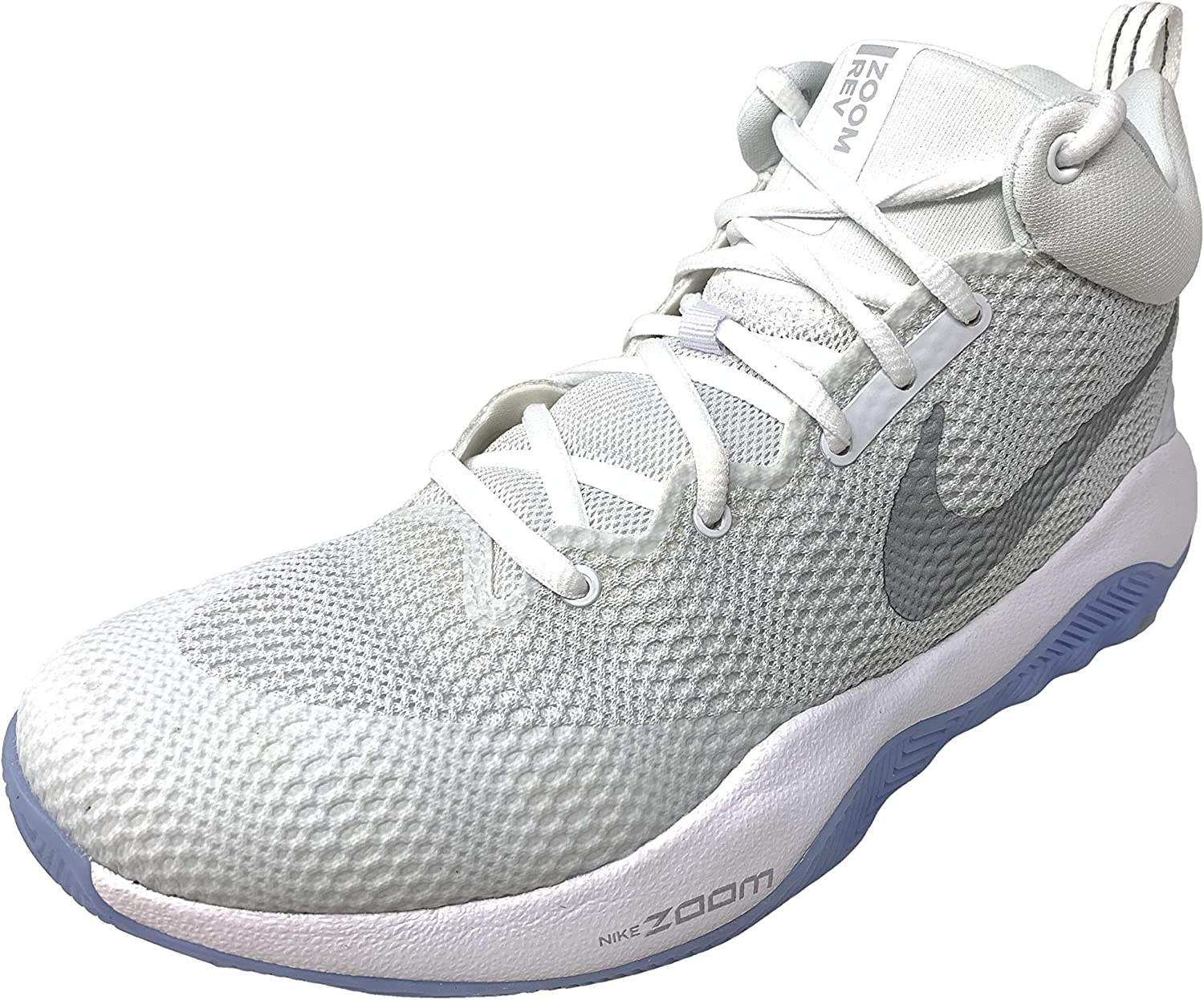Nike Mens Zoom Rev WhiteReflect Silver 852422 100 (US 11)