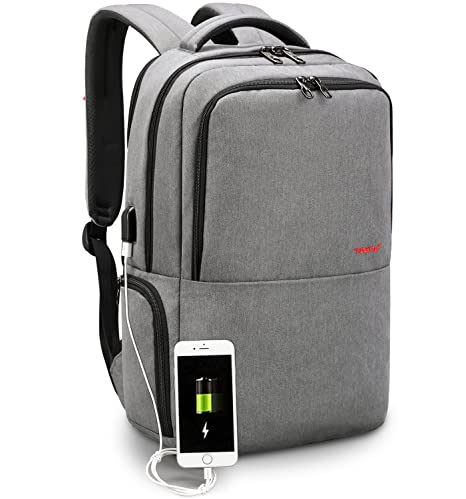 5485fbdd37c LAPACKER Travel 15.6 inch Business Lightweight Backpack for Laptop with USB  Charging Port, Durable College