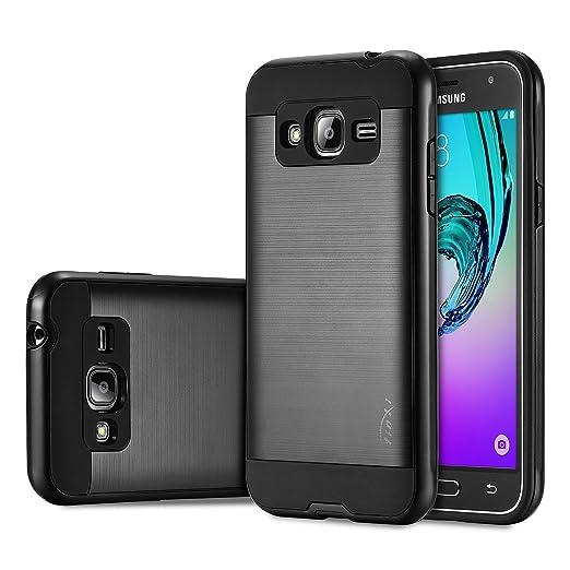 40 opinioni per tinxi® Custodia per Samsung Galaxy J3 2016 (SM-J320F) 5,0 pollice in PC e TPU