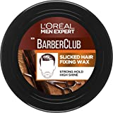 L'Oreal Paris Men Expert Barber Club Slicked Hair Fixing Wax 75ml, 1 count