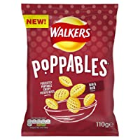 Walkers Poppables BBQ Rib Snacks, 110 g