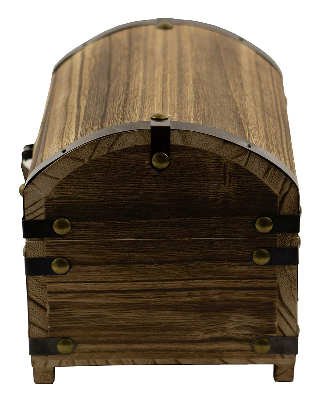Amazon.com: CoreDP Decorative Vintage Wood Treasure Chest ...