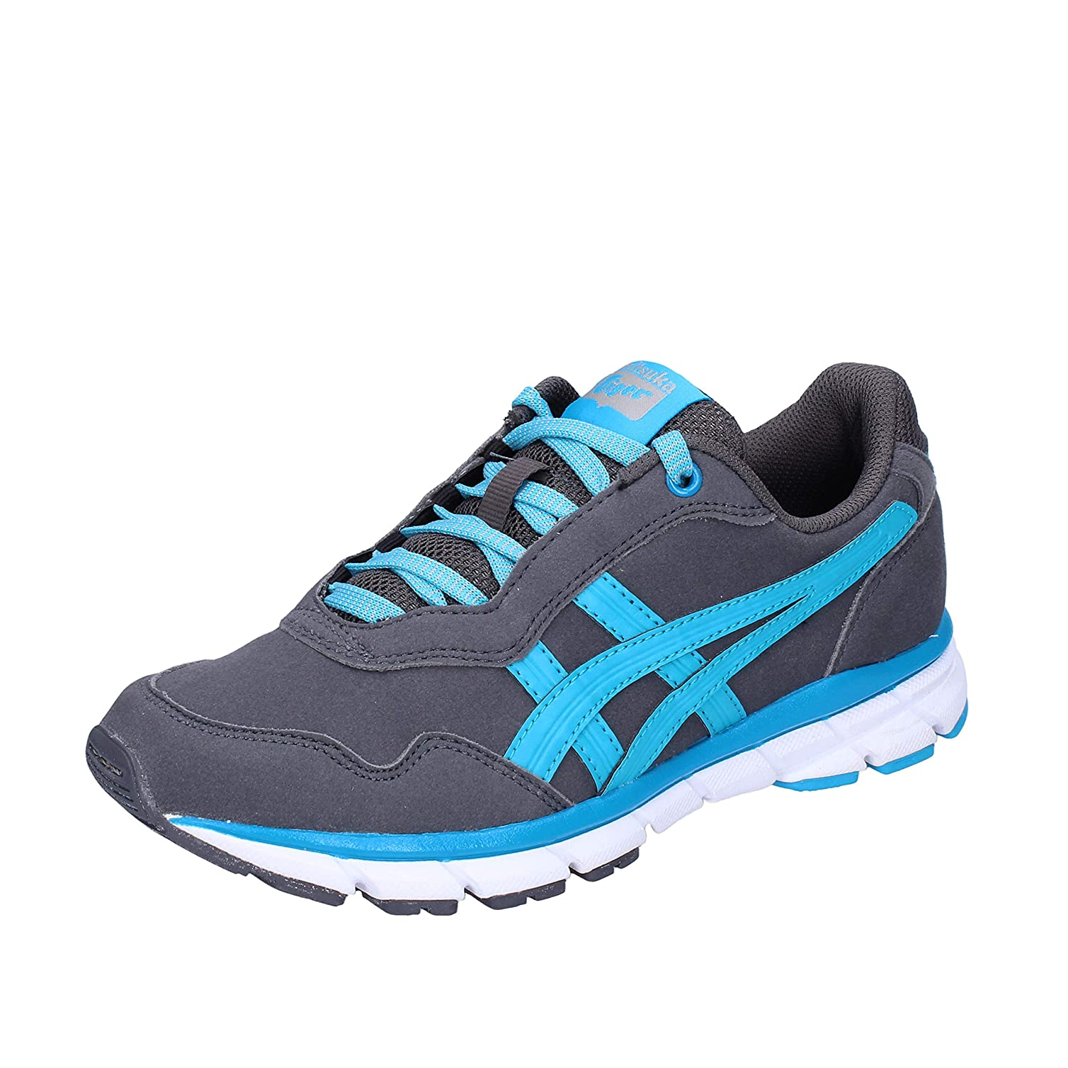 separation shoes 97a57 f1a92 Onitsuka Tiger by ASICS Gymnastics-Shoes Womens Grey 2.5 UK ...