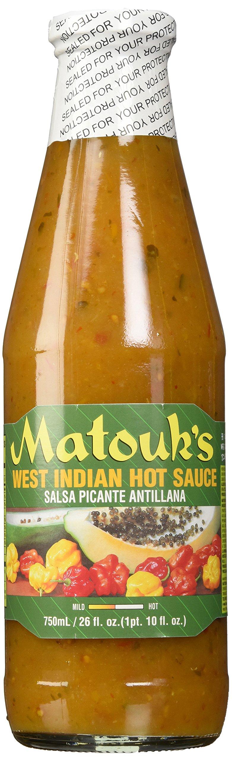 Matouk's West Indian Hot Sauce, 26 Ounce