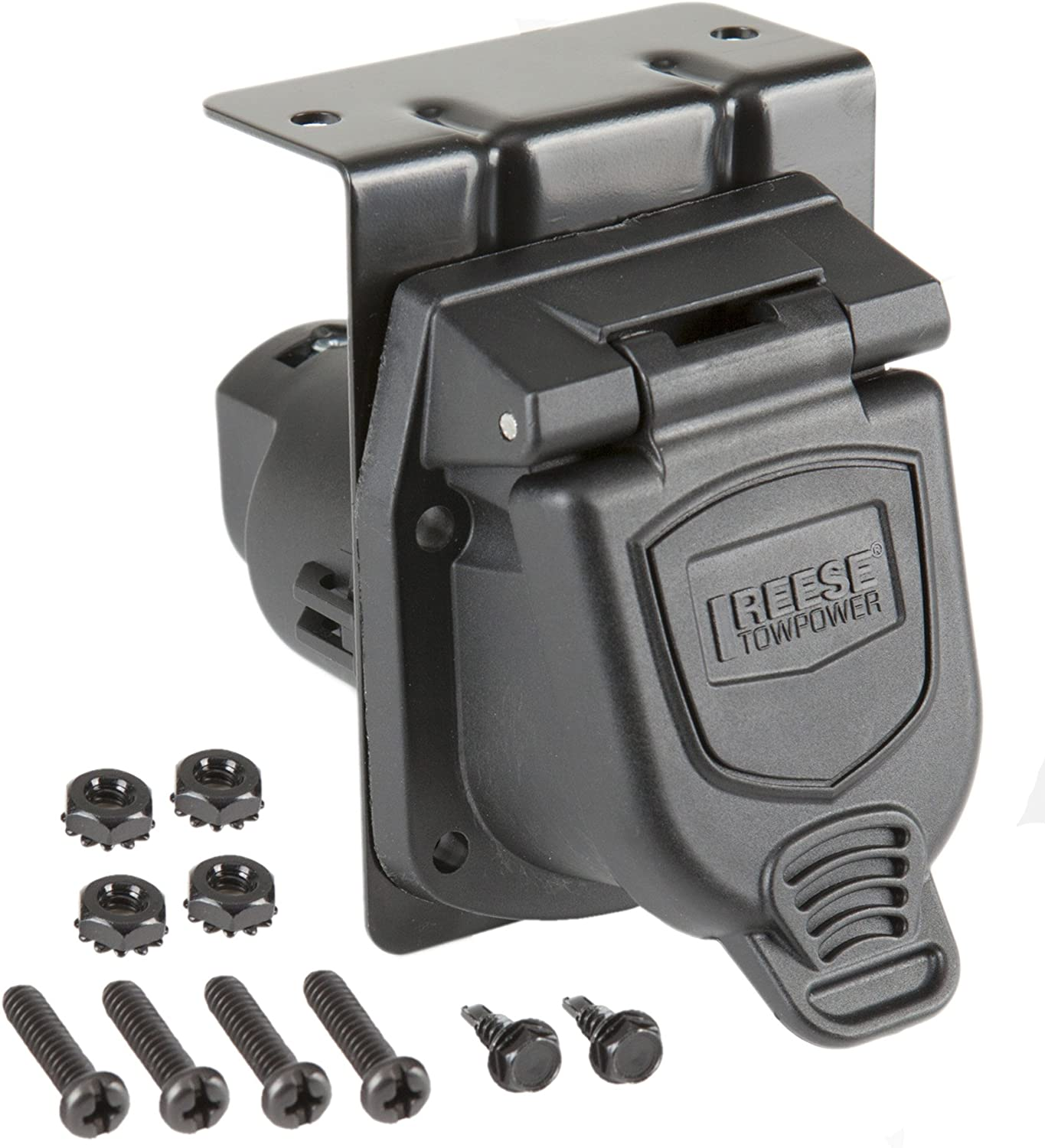Reese Towpower 74130 Chrome 6-way Heavy Duty Metal Connector