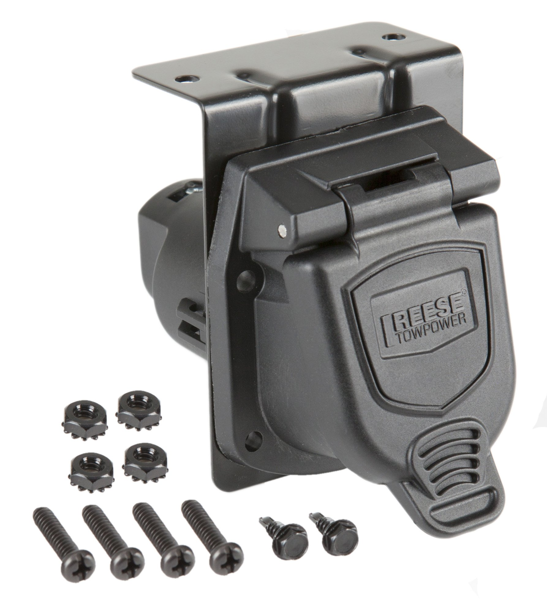 Reese Towpower 85475 Professional Series 7-Way Blade Vehicle End Connector by Reese Towpower