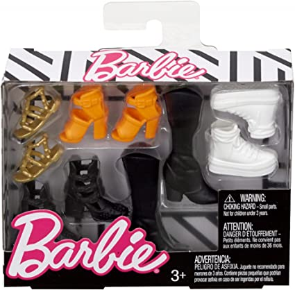 Barbie Fashionistas Sandals Boots Shoes Choose Pick one for CURVY TALL Flat FOOT