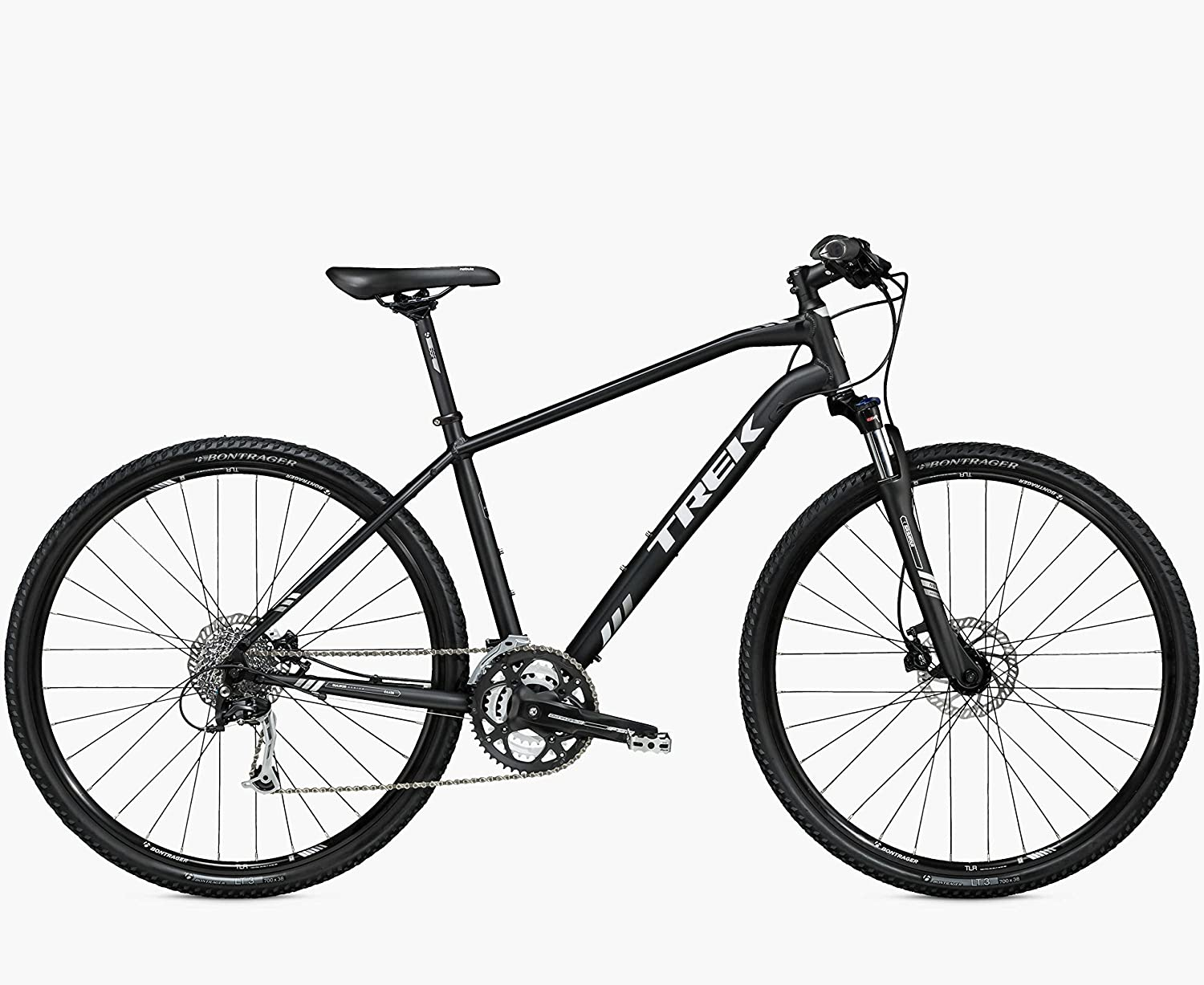 Trek 8.4 DS Dual Sport 22.5 Mountain bike, color negro mate, MTB Cross: Amazon.es: Deportes y aire libre