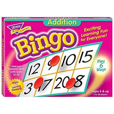 Addition Bingo Game: Office Products
