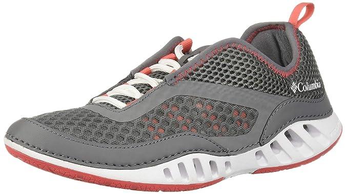 Columbia Drainmaker 3D, Zapatillas para Mujer, Gris (Ti Grey Steel, Red Coral), 39 EU: Amazon.es: Zapatos y complementos