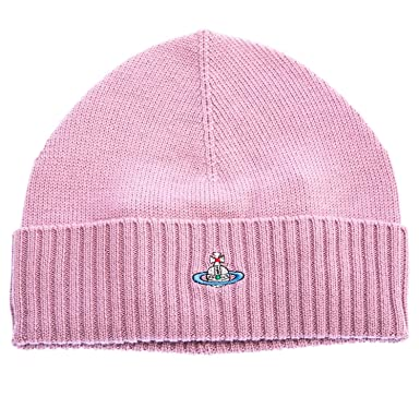Vivienne Westwood Basic Beanie Hat in Pink One Size  Amazon.co.uk ... 68643668ec4