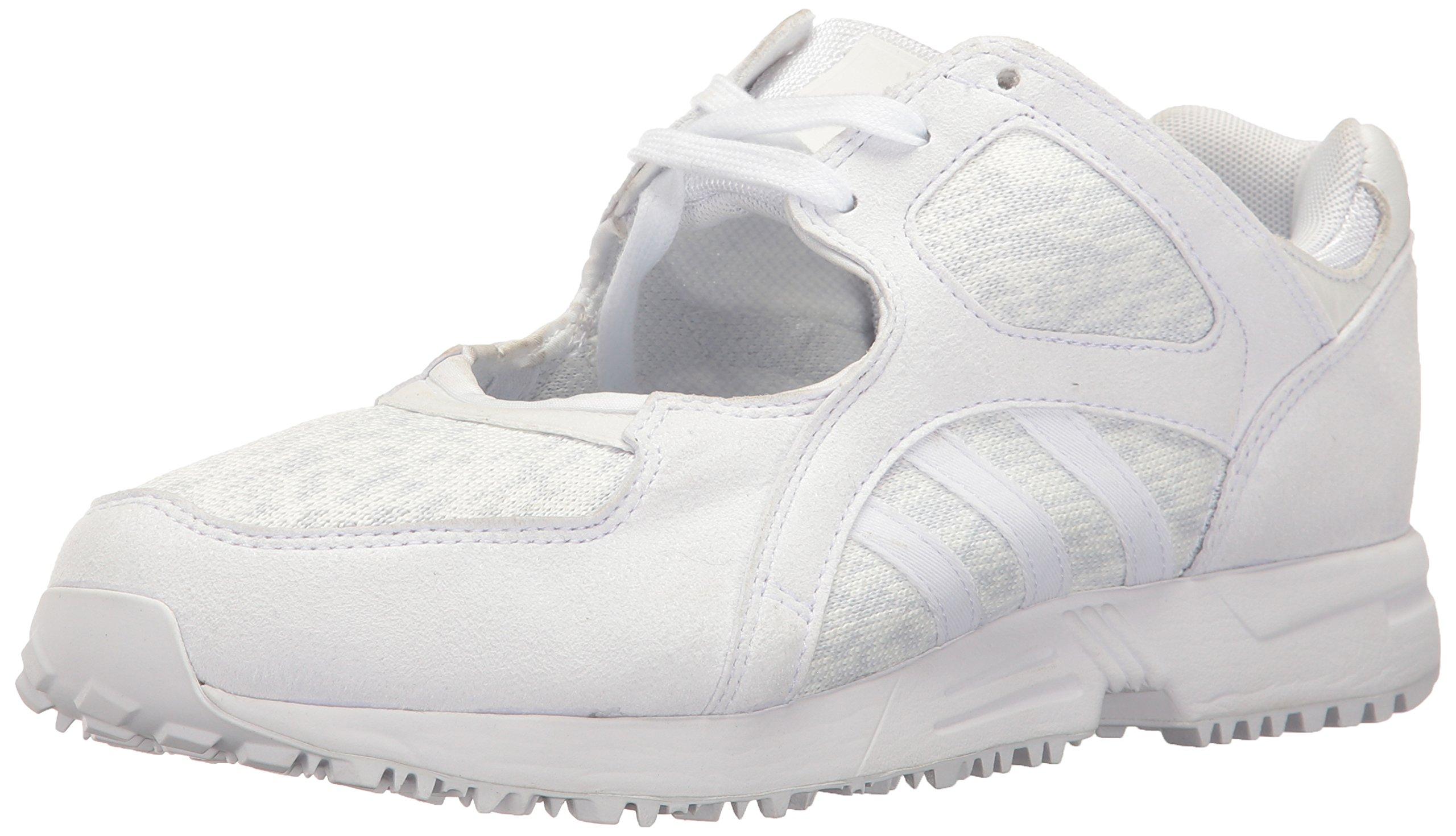 best service 1d854 1c3c3 Galleon - Adidas Originals Womens EQT Racing 91 Fashion Sneaker,  WhiteWhiteTurbo Fabric, (9.5 M US)
