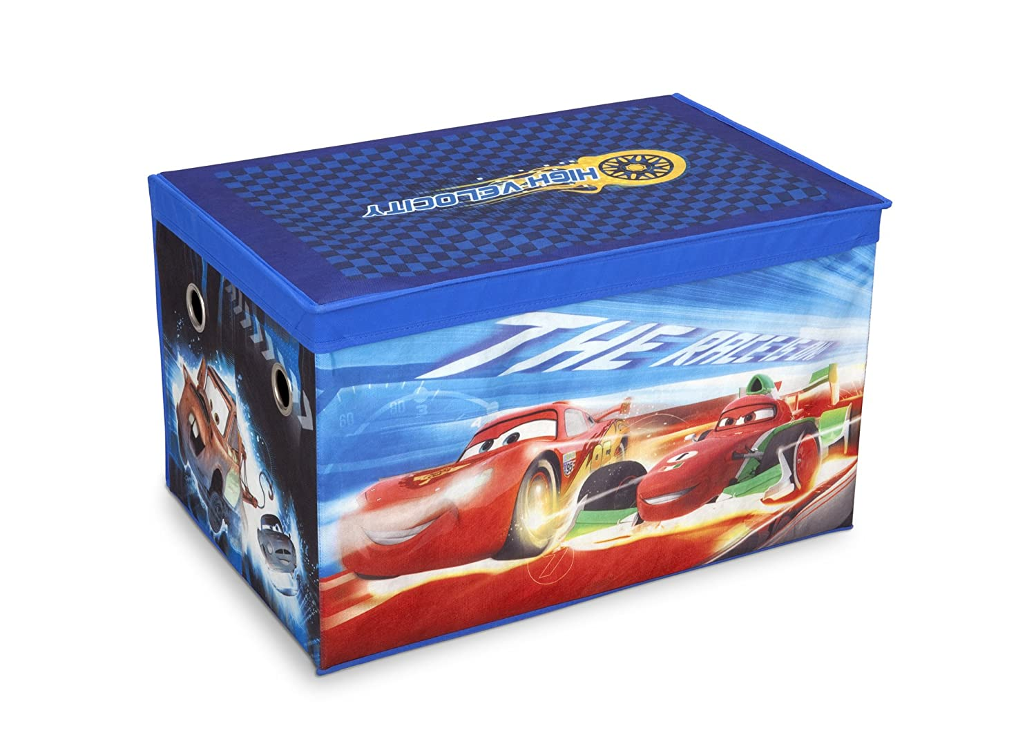 Disney Cars Collapsible Fabric Toy Box Delta TB84834CR
