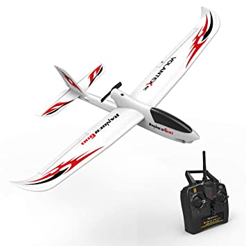 Radio Controlled And Gliding Over >> Volantexrc Rc Glider Plane Remote Control Airplane Ranger600 Ready To Fly 2 4ghz Radio Control Aircraft With 6 Axis Gyro Stabilizer One Key Return