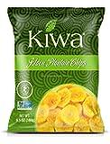 Kiwa Golden Plantain Chips – All Natural, Sweet, Savory, Gluten Free, Non-GMO, Kosher, Vegan, Crispy Snack (5 Pack of 6…