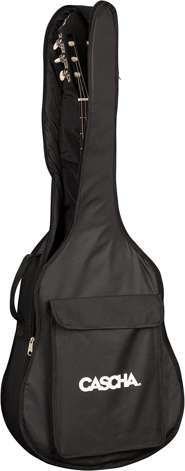 CASCHA Guitar Bag Size 4//4 Guitar Cover Backpack Function Guitar//Gig Bag Protection for Classical Guitars